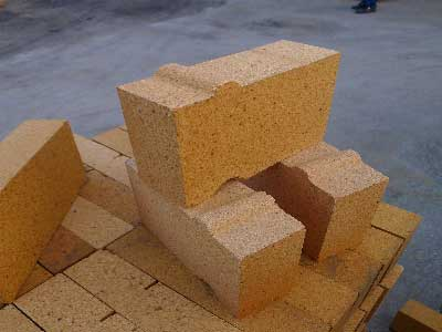 special shaped fire clay bricks