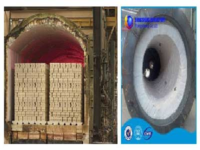 ceramic fibers used in the kilns and furnaces