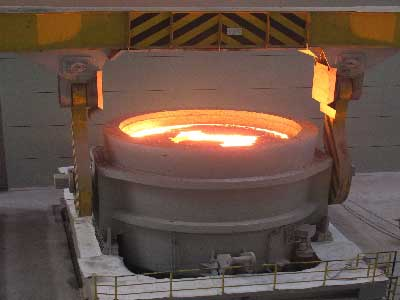 refractories used in the ladle