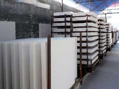 manufacturing of insulation board