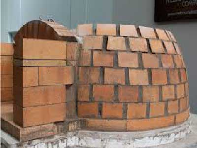 refractory mortar for outdoor stove