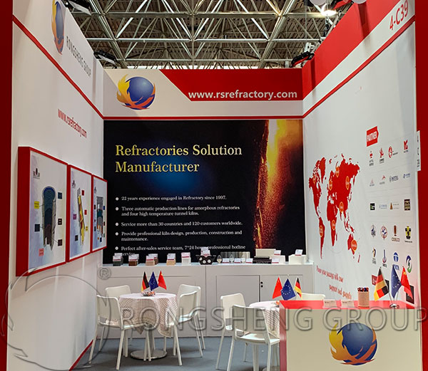 RS Refractory Materials GIFA 2019 Booth