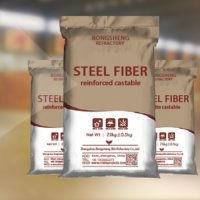 Steel Fiber High Strength Wear Resistant Castable Supply