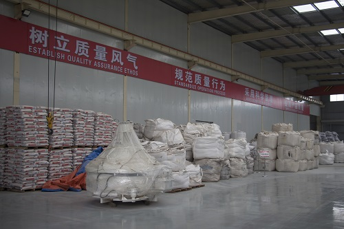 Refractory material plant