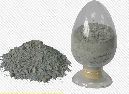 Steel fiber reinforced refractory castable